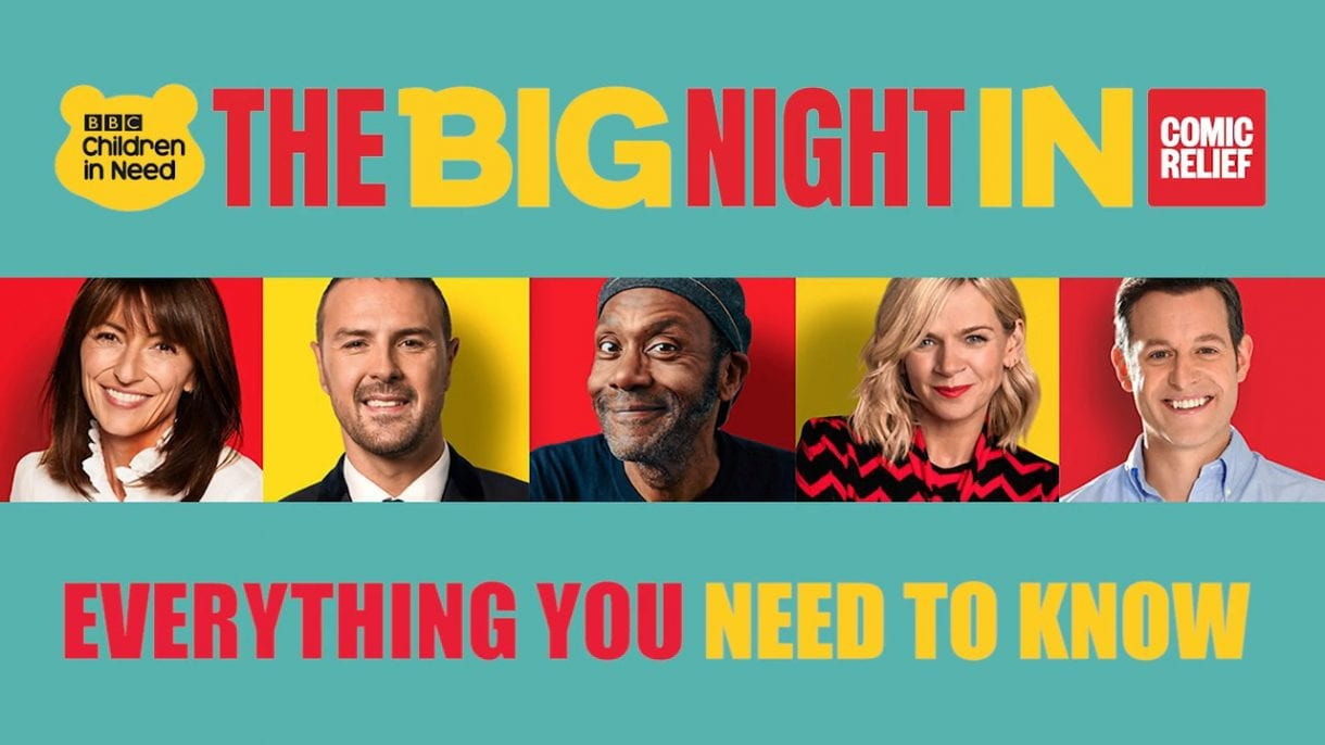 The Big Night In (BBC) With Claudia Winkleman
